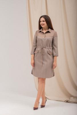 Платье Angelina 705 капучино