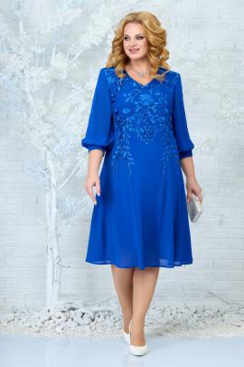 Платье Ninele 5822 василек