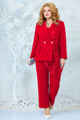Женский костюм Ninele 5857 красный