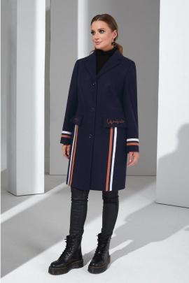Пальто Lissana 4383 темно-синий