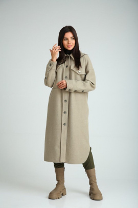 Пальто SandyNa 130601 олива