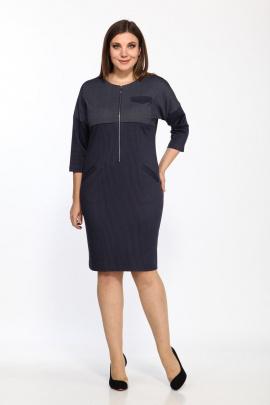 Платье Lady Style Classic 1441 темно-синий