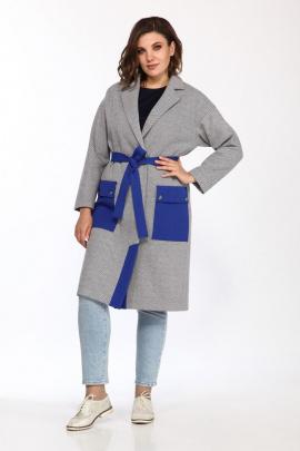 Кардиган Lady Style Classic 2376 серый_василек