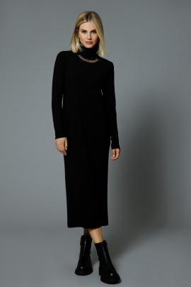 Платье DiLiaFashion 0538 черный