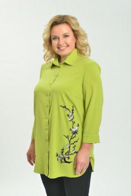 Блуза Ga-Ta Style 1805/2 зеленый