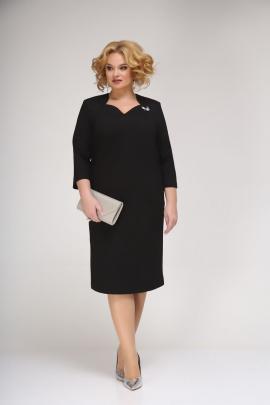 Платье Ивелта плюс 1776 черный