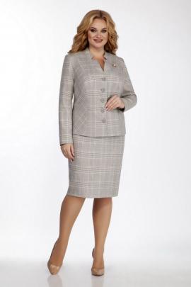 Женский костюм LaKona 1059-2 песочно-серый