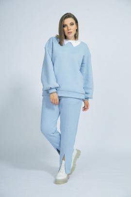 Спортивный костюм BegiModa 3017 голубой