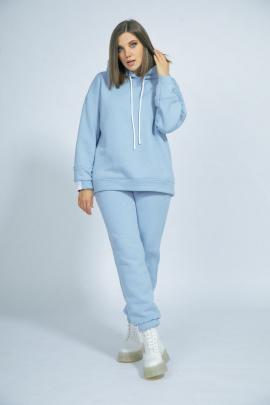Спортивный костюм BegiModa 3016 голубой