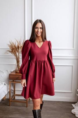 Платье KRASA 274-21 бордо
