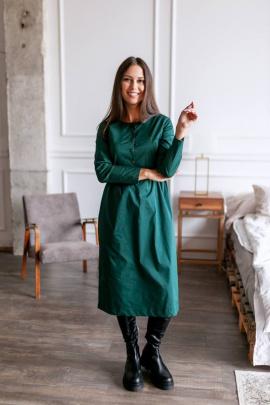 Платье KRASA 202-21 зеленый