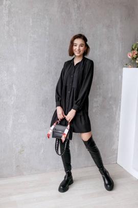 Платье KRASA 212-21 черный