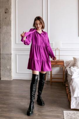 Платье KRASA 212-21 фуксия