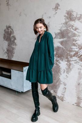 Платье KRASA 212-21 зеленый