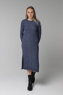 Платье Romgil 173ТЗ индиго