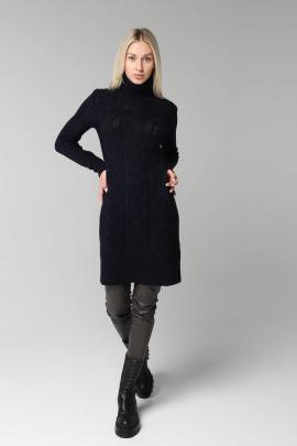 Платье Romgil 299ТЗ темно-синий