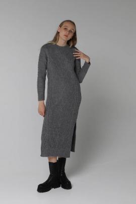 Платье Romgil 526ТЗ серый