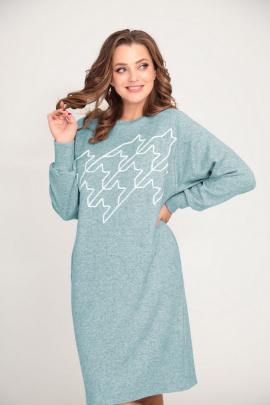 Платье ALEZA 1052 мята
