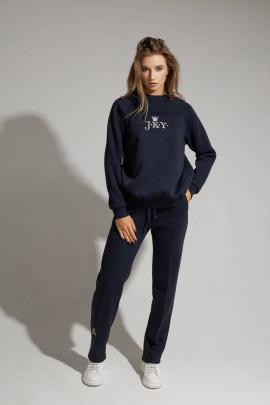 Спортивный костюм JKY КA-012 темно-синий