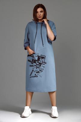 Платье Mubliz 617 голубой
