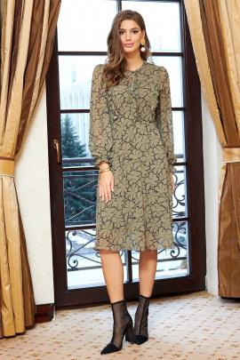 Платье AYZE 2350 олива