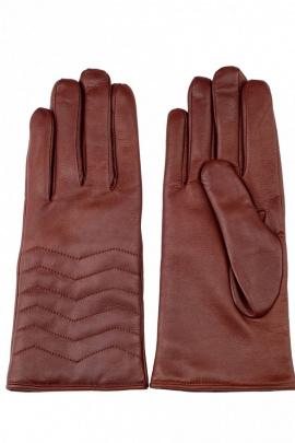 Перчатки ACCENT 851р каштановый