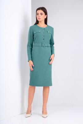 Платье Karina deLux М-9941 бирюза