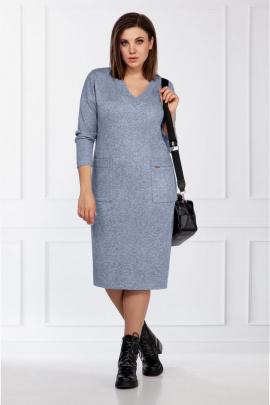 Платье БагираАнТа 733 голубой