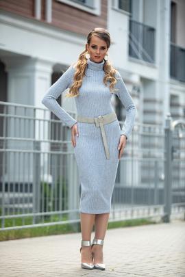 Платье Diva 1318 светло-голубой