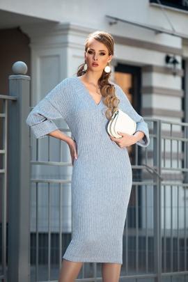 Платье Diva 1325-1 светло-голубой