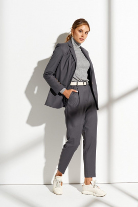 Женский костюм Prestige 4187 темно-серый