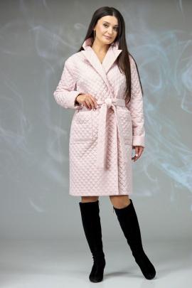 Пальто Angelina & Сompany 608 пудра