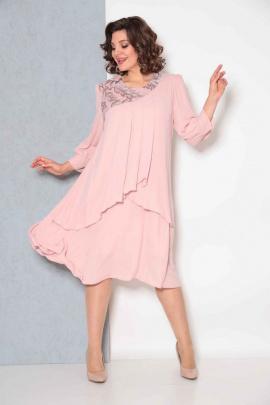Платье Асолия 2545/1 пудра