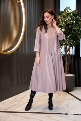 Платье Anastasiya Mak 942 какао