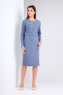 Платье Karina deLux М-9941А голубой