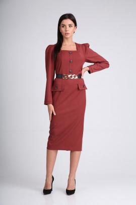 Платье SandyNa 130115 винный