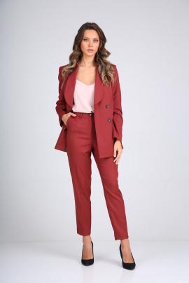 Женский костюм SandyNa 130511 винный