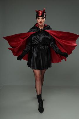 Комплект T&N 04-Дьяволица черно-красный