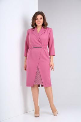Платье Ксения Стиль 1944 розовый