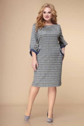 Платье Romanovich Style 1-2239 серый