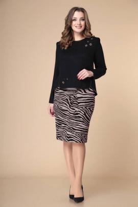 Комплект Romanovich Style 2-1432 черный/коричневый