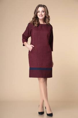 Платье Romanovich Style 1-2243 бордо