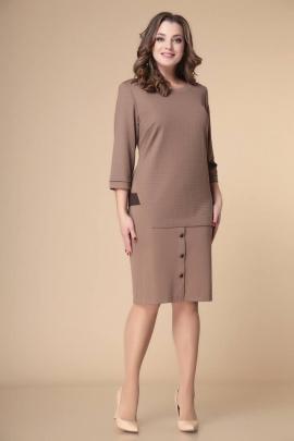 Платье Romanovich Style 1-2246 коричневый