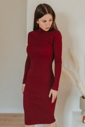 Платье Mirolia 575 бордо