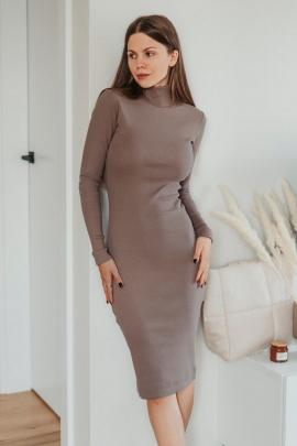 Платье Mirolia 575 кофе