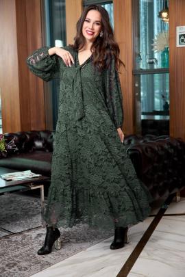 Платье Anastasia 713 олива