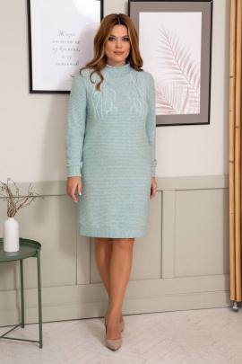 Платье Olegran 3818 мята