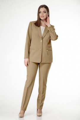 Женский костюм ELITE MODA 4222/2903 бежевый