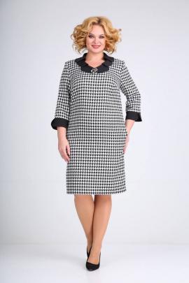 Платье Moda Versal П2349 тетрис_черный