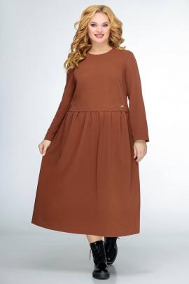 Платье Swallow 407 глубокий_терракот